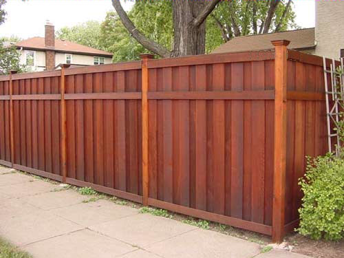 Wooden Fence Designs Ideas 1000 images about fence design ideas on pinterest fence wood gates and gates Privacy Fence Design Ideas Landscaping Network The Great Outdoors Pinterest Fence Privacy Fences And Fence Design