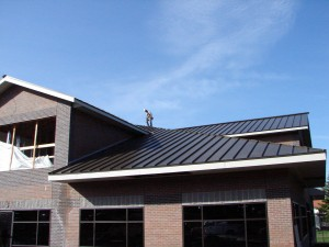 Metal roofing in Charlotte NC