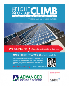 2014 Fight For Air Climb Charlotte