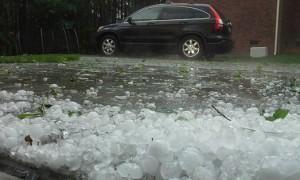 Charlotte NC Hail and damage