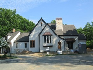 A house repaired by Charlotte roofing contractors