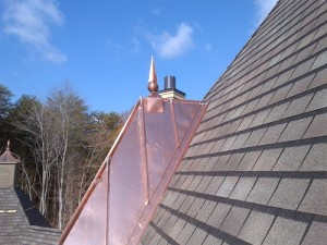 Metal roofing companies works